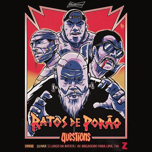 João Gordo está de volta e Ratos de Porão tocará em São Paulo no Z
