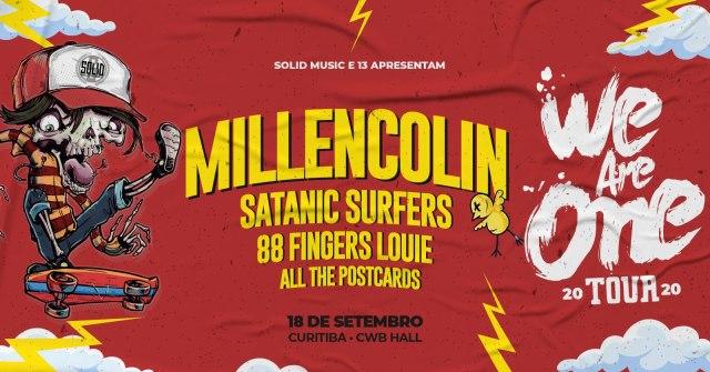 We Are One 2020 millencolin Satanic Sufers