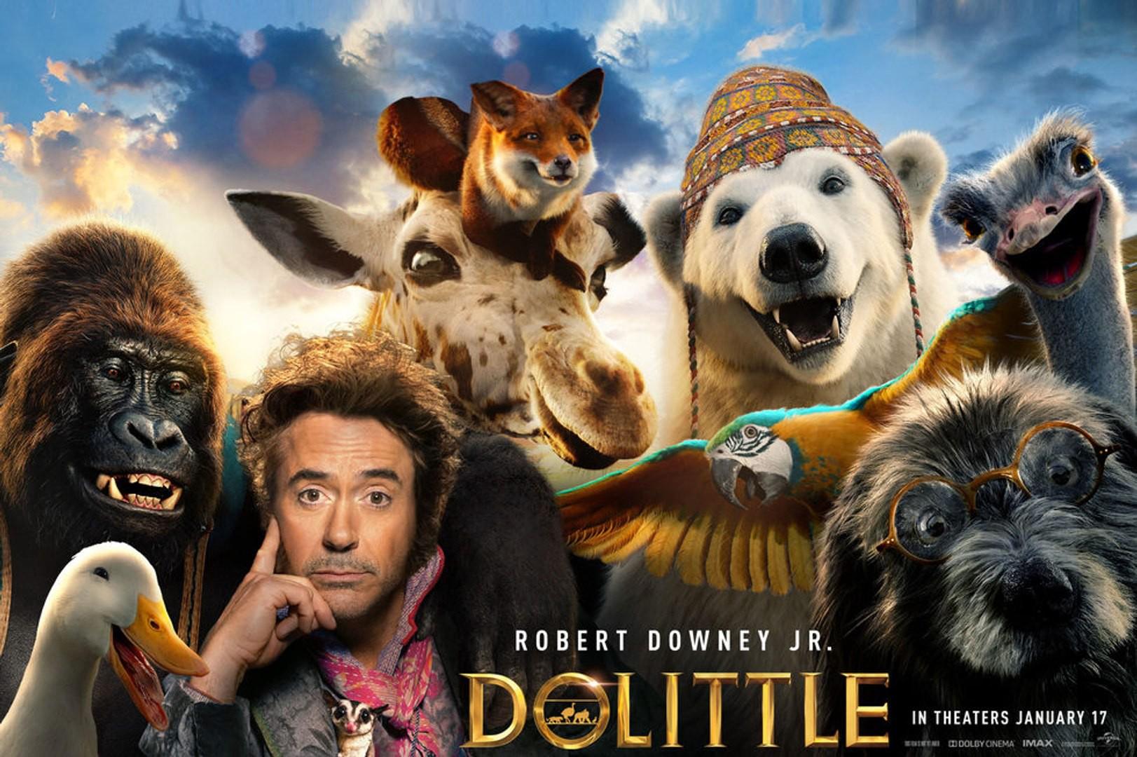 Dolittle: Filme ultrapassa U$200 milhões nas bilheterias mundias, mas pode dar prejuízo ao estúdio
