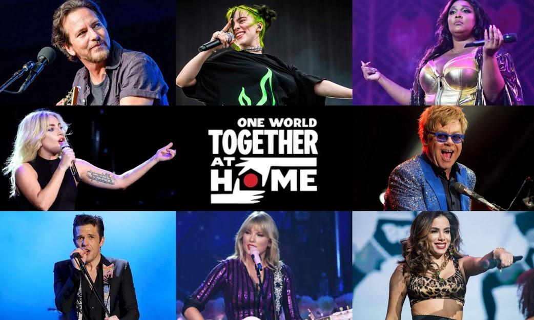 """Festival online """"Together at Home"""" de Lady Gaga ganha mais atrações e exibição na TV brasileira"""
