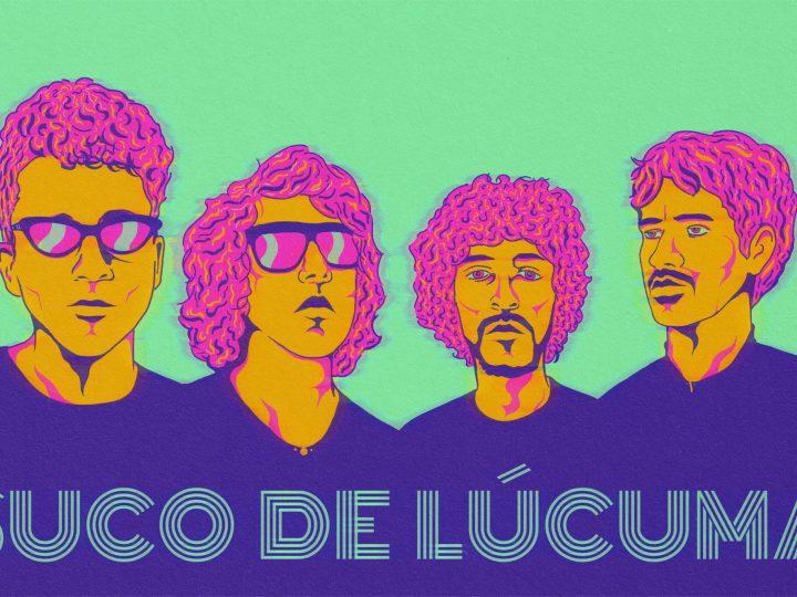 """Suco de Lúcuma apresenta """"Quase Rosa, Quase Azul"""" – confira resenha e entrevista com a banda"""