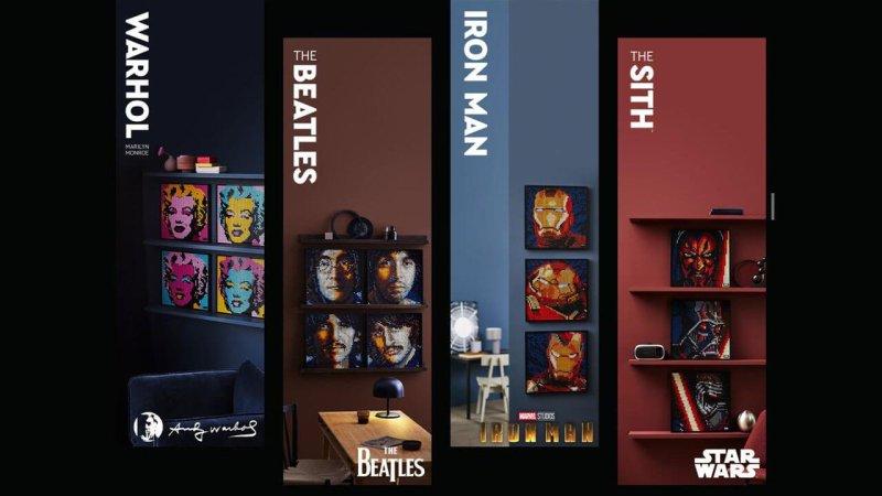 Beatles Lego