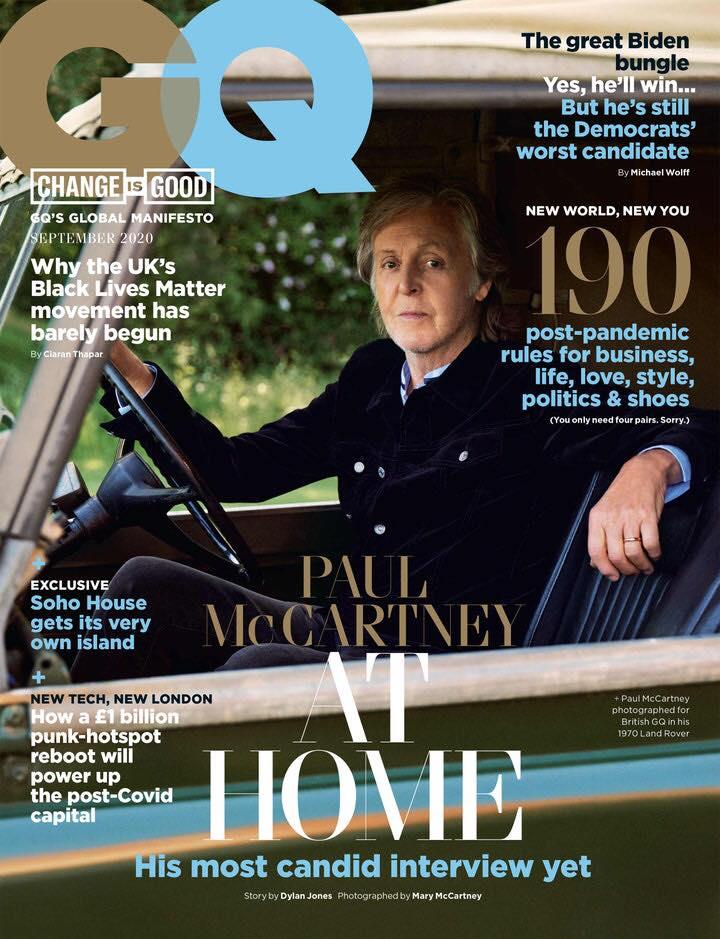 Paul McCartney British GQ