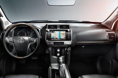 Un interior más moderno con materiales de gran calidad. Foto: Prensa Toyota