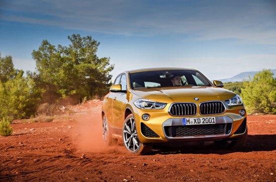 El X2 desembarca para ofrecerse como una alternativa interesante entre los SUV y crossovers de BMW pertenecientes a la gama X. Foto: Prensa BMW