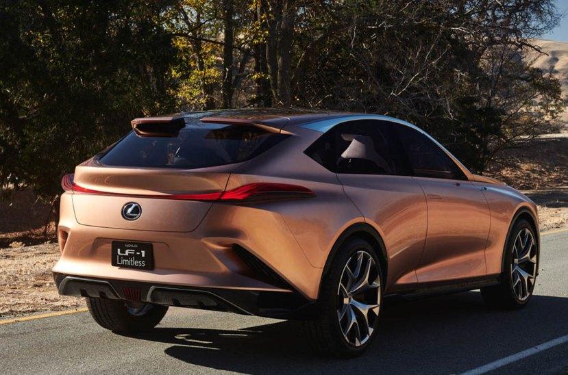 Lexus LF1 cola