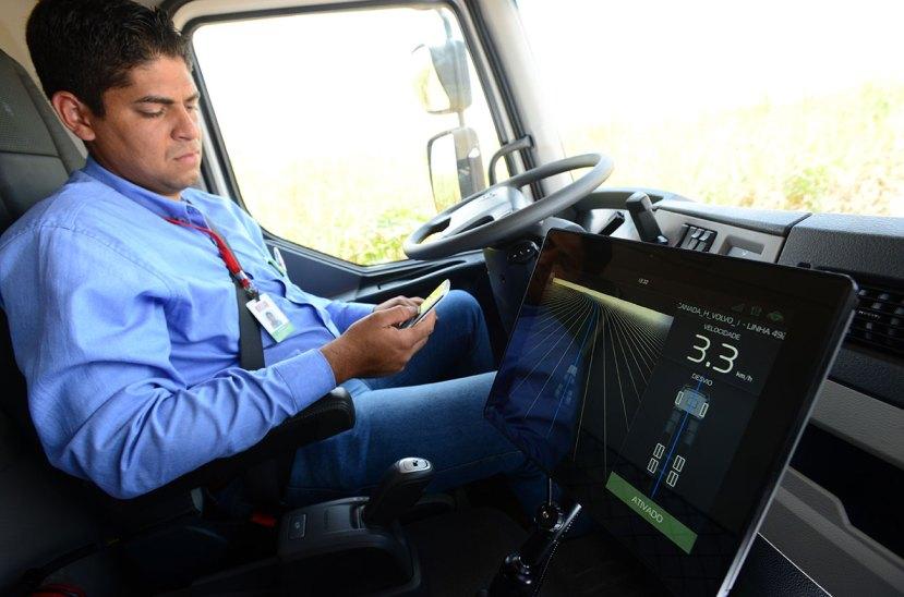 Chofer camión autónomo