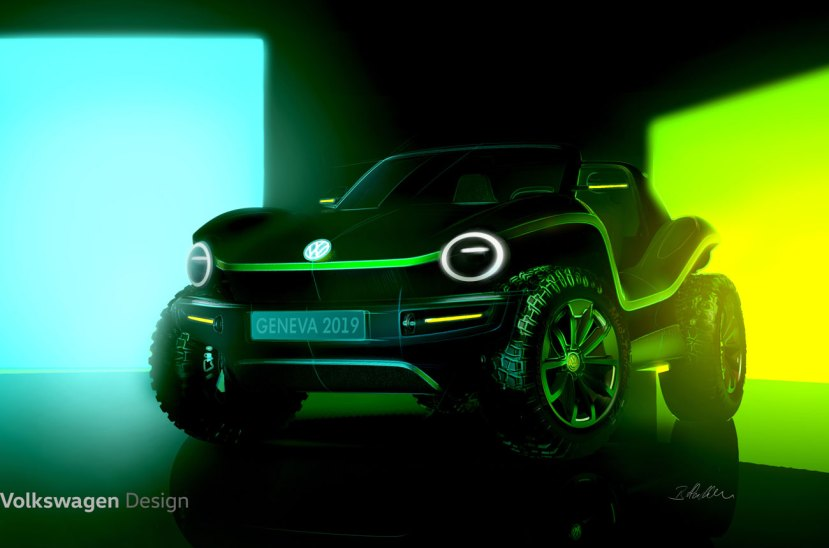 Volkswagen buggy electrico