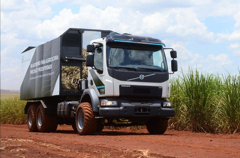 Camión autónomo Volvo