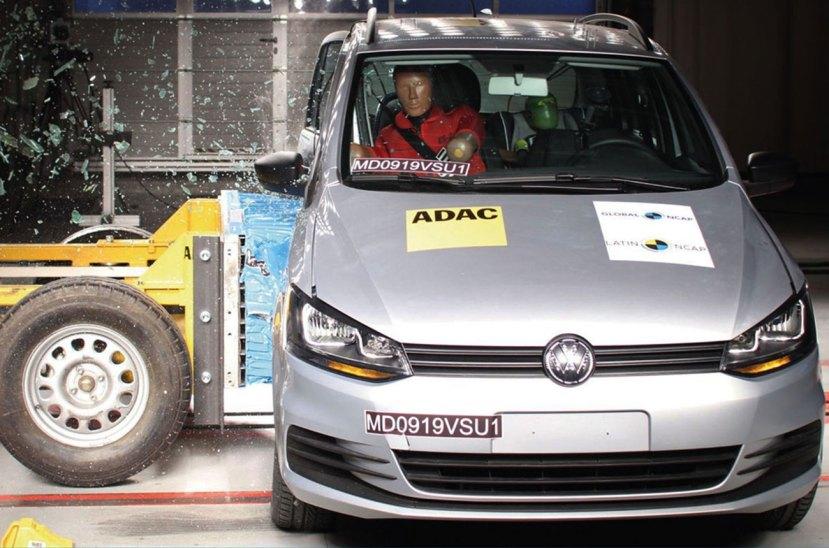 Test de choque LatinNCAP Volkswagen Suran