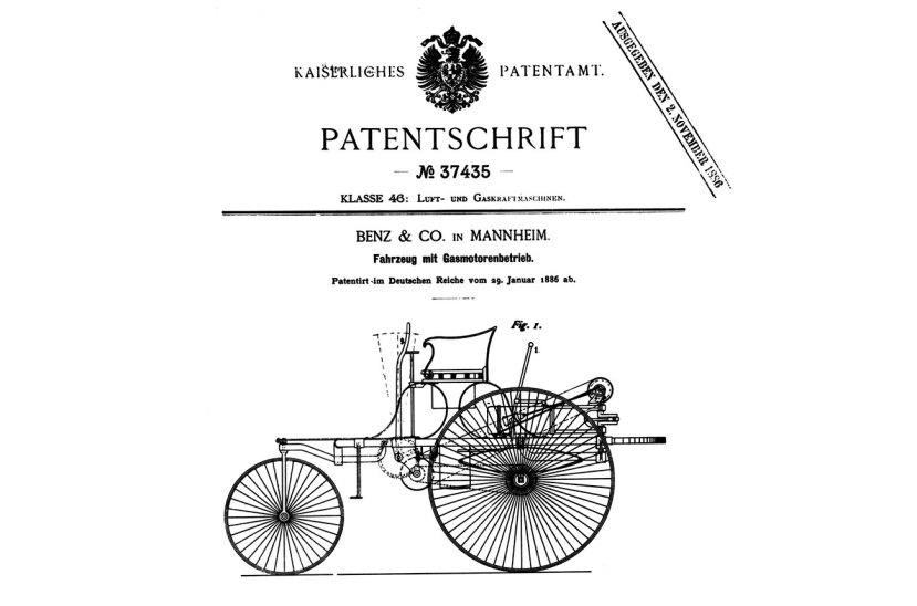 Patente Carl Benz
