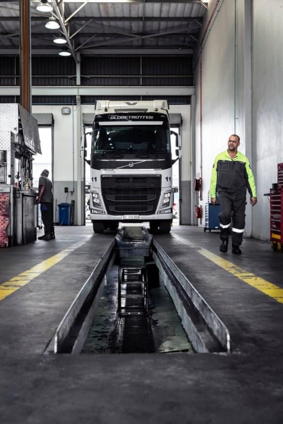 los camiones de Volvo