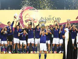 Japan - the winners of Asian Cup 2011