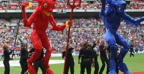Mascotele: Chelsea vs Manchester United