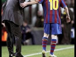 Conceptul tactic al Barcelonei. Guardiola si Messi