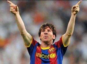 Messi in Real vs Barcelona 0-2, 27 aprilie 2011