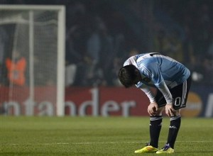 Messi in Copa America Argentina vs Colombia