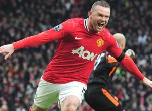 Rooney Manchester United vs Liverpool