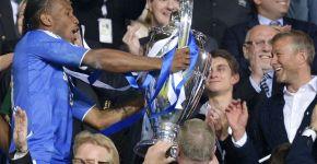Didier Drogba Roman Abramovich Champions League 2012