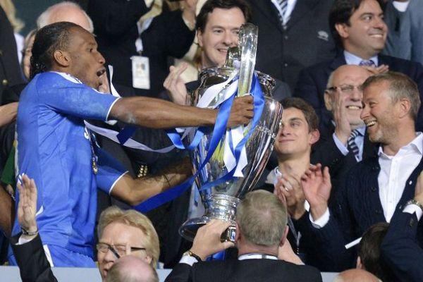 Drogba Abramovich Champions League 2012