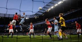Man City v Man Utd - Goal