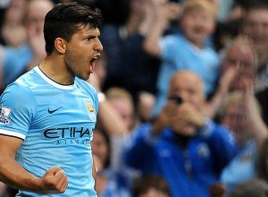 Manchester City Kun Aguero