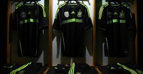 Spain away kit by Adidas World Cup 2014
