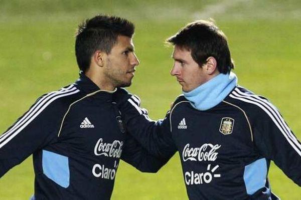 Sergio Aguero - Messi