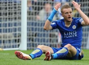 Champions League Vardy Leicester