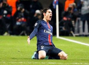 Edison Cavani + Champions League