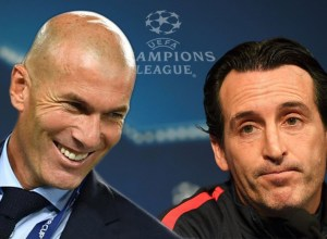 Champions League 2017-2018 Emery Zidane