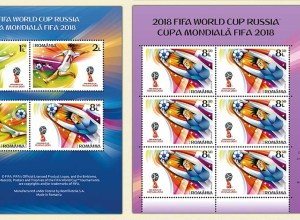 World Cup 2018 emisiune filatelica