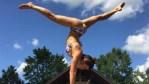 Danica Patrick-Yoga