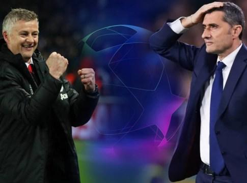 Solskjaer-Valverde-Manchester-United-Barcelona-UCL-2019
