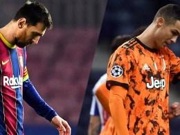 Messi Ronaldo Champions League 2020-2021