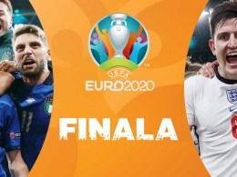 Finala Euro 2020 Italia Anglia