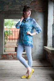 Sheer Tunic by Threads 4 Thought