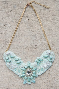 Fabric Flair Necklace