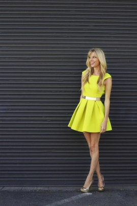 6. Aqua by Aqua dress