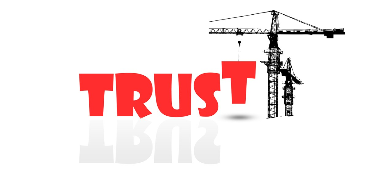 build trust with a good website