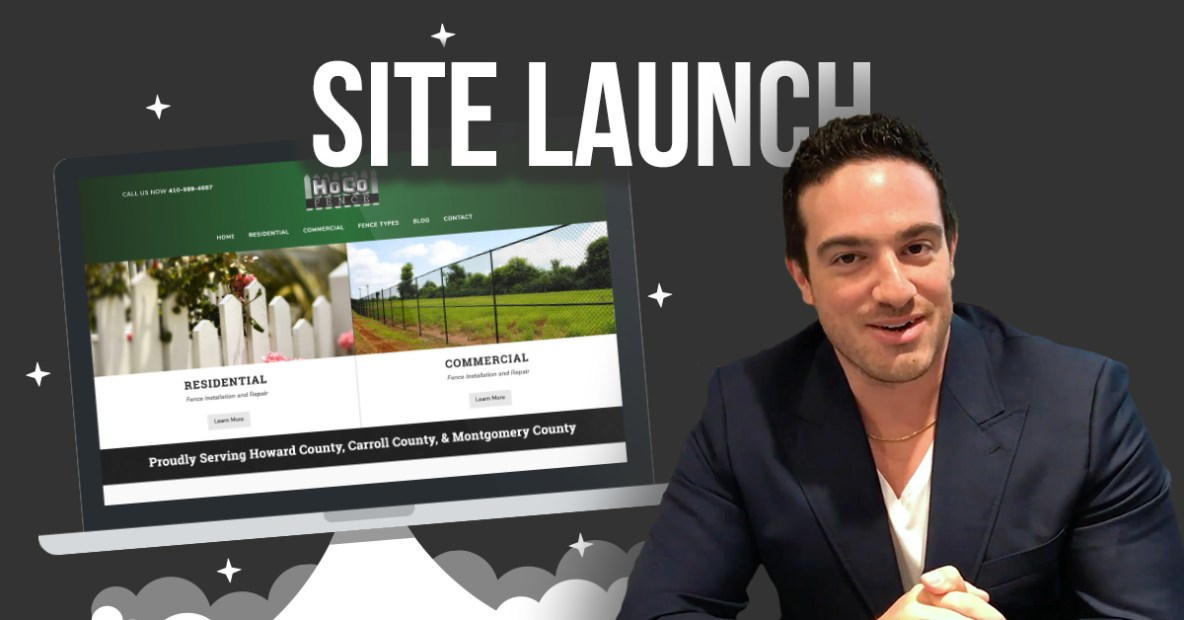New Website Launch HoCo Fence