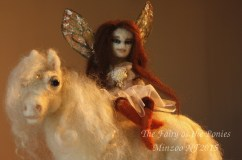 felted soft sculpture minzoo