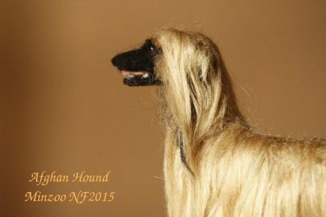 needle felting dog afghan