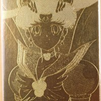 Sailor Moon 22k gold card