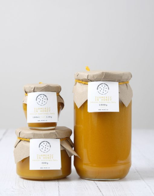 Turmeric Infused Honey