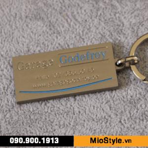 xưởng sản xuất móc khoá kim loại inox đồng thau mạ vàng giá rẻ tp.hcm garage xe hơi toyota bmw