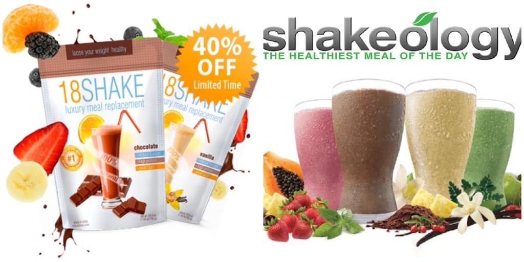 18 Shake vs Shakeology review
