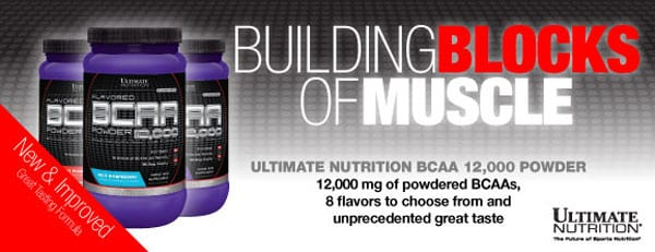 Ultimate Nutrition BCAA reviews