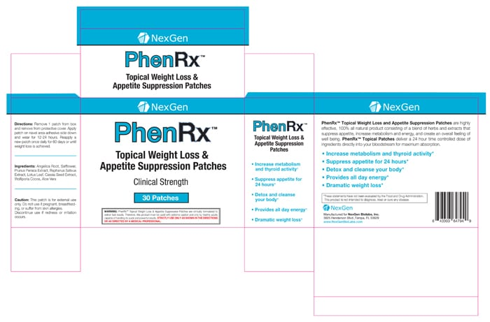 phenrx patches reviews