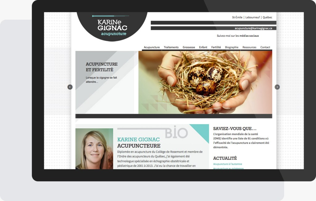 Portfolio Mioudesign - Karine Gignac